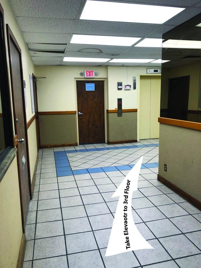 Eaton Square Lobby Elevator