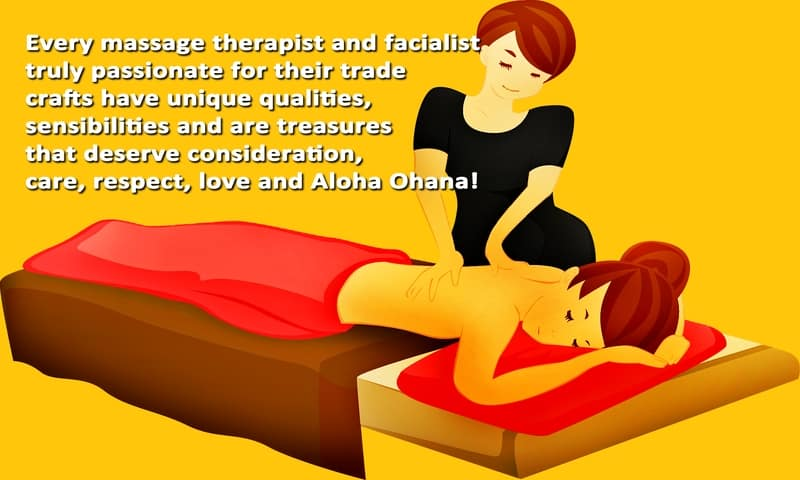 Massage In Honolulu How Honua Therapeutic Massage wishes to treat Massage Therapists and Facialists