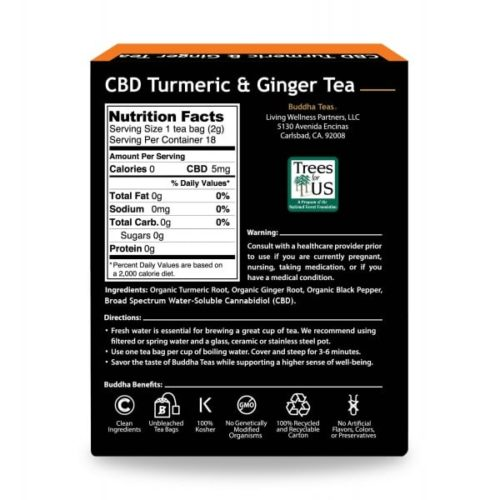 Buddha-CBD-Teas-Turmeric-Ginger-Ingredient-Label