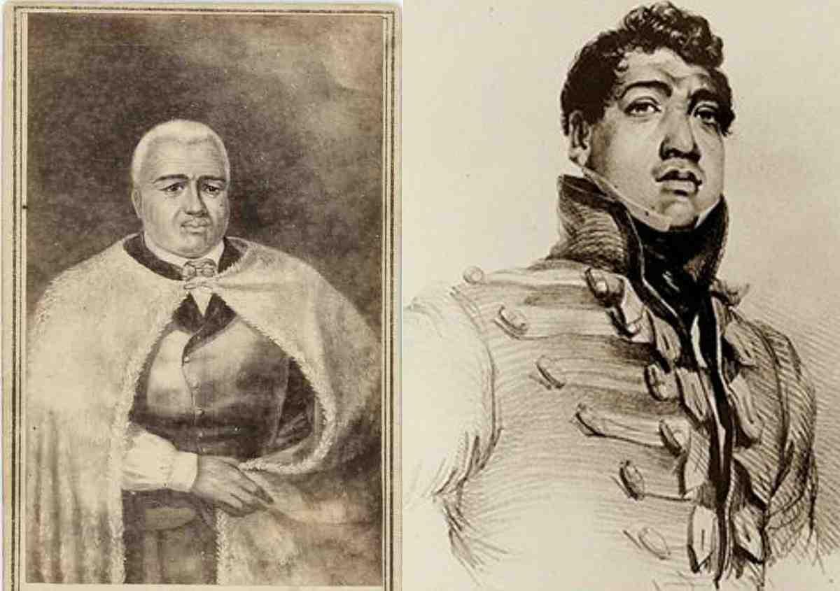 King Kamehameha I and II